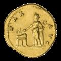 INC-1840-r Ауреус Веспасиан ок. 73 г. (реверс).png