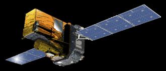 INTEGRAL - Artist's impression of the INTEGRAL spacecraft