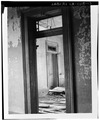 INTERIOR, DETAIL OF DOORWAY, OBLIQUE ANGLE - Seven Oaks Plantation, Westwego, Jefferson Parish, LA HABS LA,26-WESWE,1-13.tif
