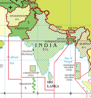time zone used in Bangladesh