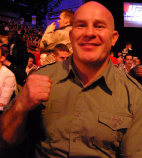 Ian Freeman English mixed martial arts fighter