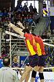 Ibán Pérez y Marc Altayó - Bilateral España-Portugal de voleibol - 01.jpg