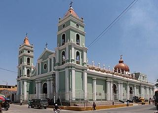 Catacaos Town in Piura, Peru