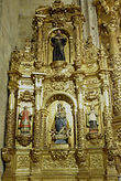 Retablo de la Virgen del Rosario.