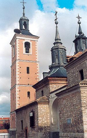 Church of Nuestra Señora de la Asunción (Valdemoro) - Image: Iglesia y campanario en Valdemoro
