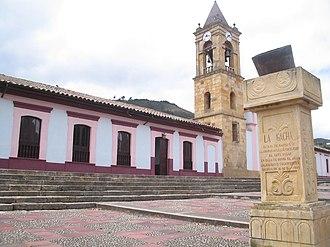 Gachancipá - Image: Iglesiade Ganchancipá