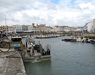 Canton of Saint-Martin-de-Ré - Saint-Martin-de-Ré, fishing port, main basin