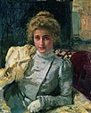Ilya Repin. The blonde woman (portrait of Tevashova).jpg