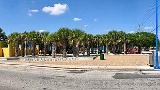 Immokalee, Florida - Image: Immokalee Zocalo Plaza 2018