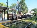 Inbound mini-high ramp at Cedar Grove station, August 2016.JPG