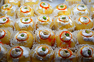 Vark - Image: Indian Sweets Vark