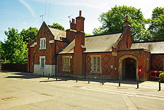 Ingatestone railway station - The Grade II listed station building in 2013