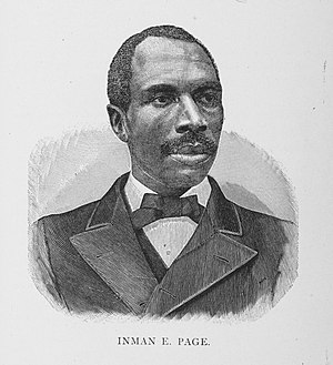 Inman E. Page - Page in 1887