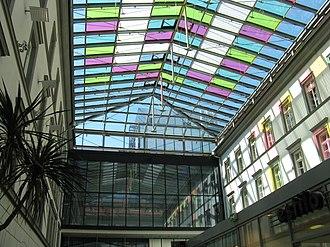 Innsbruck Town Hall - Image: Innsbruck neues Rathaus innen