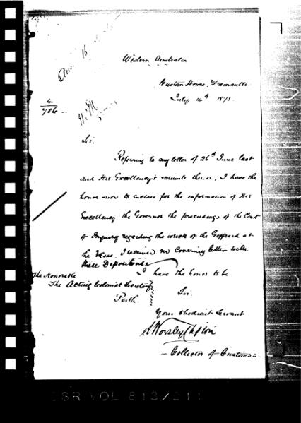 File:Inquiry into the shipwreck of 'Geffrard' 1875-07-07.djvu