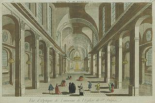 Dans les Caveaux des églises   dans EGLISES DE FRANCE 320px-Int%C3%A9rieur_de_l%27%C3%A9glise_Saint-Sulpice_en_vue_d%27optique
