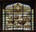 Interieur- gebrandschilderd glas in het trappenhuis, voorstellende de aankomst van de vloot van Cornelis de Houtman op de rede van Bantam - Amsterdam - 20530473 - RCE.jpg