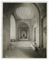 Interior work - arches in Astor Hall, in front of Gottesman Exhibition Hall (NYPL b11524053-489889).tiff