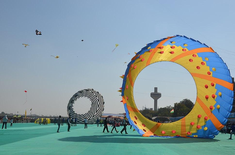 International Kite Festival,India