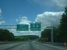 Interstate In New Jersey Wikipedia - Us map ststes route 80