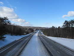 Interstate 89 northbound, Hartford VT.jpg