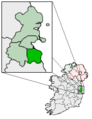 Ireland map County Dun Laoghaire-Rathdown Magnified.png