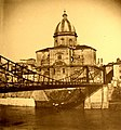 Iron bridge at San Giovanni dei Fiorentini, ca. 1890.jpg
