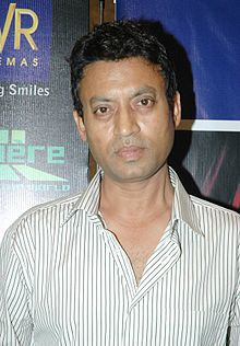 Photograph of Irrfan Khan