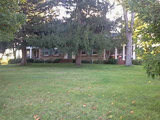 Isaac Cox Cobblestone Farmstead United States historic place