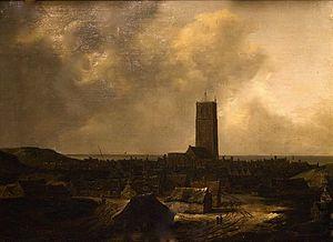 Isaack van Ruisdael - View of Egmond aan Zee, 1646