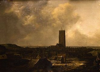 Isaack van Ruisdael - View of Egmond aan Zee, 1646