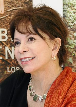 Isabel Allende cover