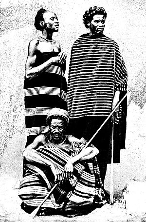 Bara people - Isambo, king of the Bara people (1906)
