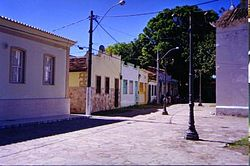 A street in Itaparica.
