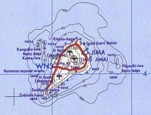 Map of Iwojima