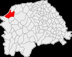 Vị trí của Izvoarele Sucevei