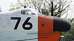 JMSDF US-1A(9076) nose & cockpit right front view at Kanoya Naval Air Base Museum April 29, 2017.jpg