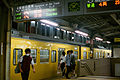 JNR 115 Sanyo Main Line local at Mihara Station 20150829.jpg