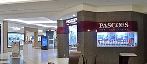 James Pascoe Group - Stewart Dawsons, Farmers, and Pascoes at Westfield Queensgate