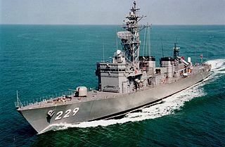 JS <i>Abukuma</i> Abukuma-class destroyer escort