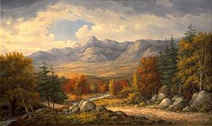 Mount Chocorua - Mount Chocorua, John White Allen Scott (1815-1907)