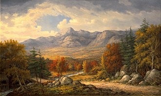 Mount Chocorua - Mount Chocorua, John White Allen Scott (1815-1907)