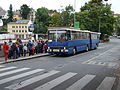 Jablonec nad Nisou, kamenná, autobus Ikarus 280.jpg