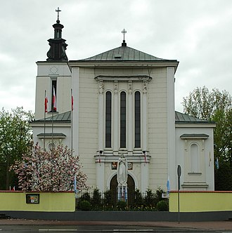 Jabłonna, Legionowo County - The Mother of God Queen of Poland Church