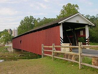 Bart Township, Lancaster County, Pennsylvania - Jackson's Sawmill Covered Bridge in Bart Township