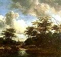 Jacob Isaacksz. van Ruisdael - Zandweg tussen geboomte - 1743 (OK) - Museum Boijmans Van Beuningen.jpg