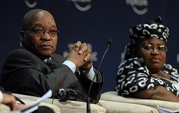 CAPE TOWN/SOUTH AFRICA, 10JUN2009 -Jacob Zuma,...