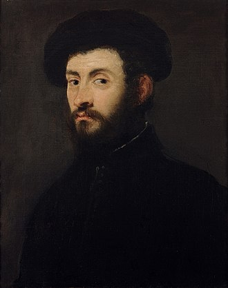 """Musée des Beaux-Arts de Strasbourg - """"Portrait of a bearded man"""" by Tintoretto"""