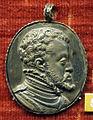 Jacopo nizzola da trezzo, medaglia ovale di fiippo II di spagna.JPG