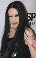 Jade Starr at party at Boardners 1.jpg